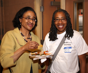 wed md - Dr Bessie Young and Jannine Young at Kidney Health Fest