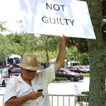 Sanford, Fla. residents are worried about impact of George Zimmerman's not guilty verdict on their city. Photo/Duane Fernandez/The Florida Courier.