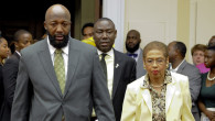 (L-R): Trayvon Martin's father,Tracy Martin; Attorney Benjamin Crump and D.C. Delegate Eleanor Holmes Norton. NNPA Photo/Freddie Allen.