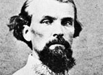 "Nathan Bedford Forrest, a slave trader and the first ""grand wizard"" of the Klu Klux Klan. (Courtesy Photo)"