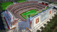 Only 1 percent of contractors of Levi's Stadium in California are people of color.