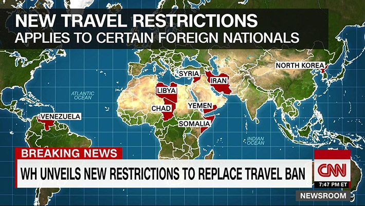 Trump Signs New Travel Ban With Expanded Restrictions