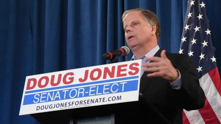 Certified Senate vote makes Doug Jones' win official