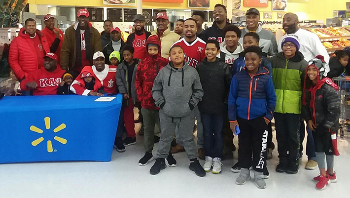 73af456d878c Members of The Seattle Alumni Chapter of Kappa Alpha Psi Fraternity hosted  43 kids during their annual shop with a Kappa event held last Saturday in  Renton.