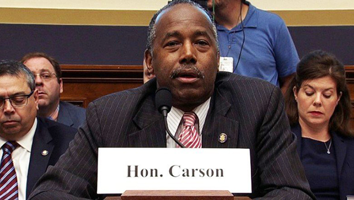 HUD Secretary Ben Carson Is Changing His Agency's Mission Statement