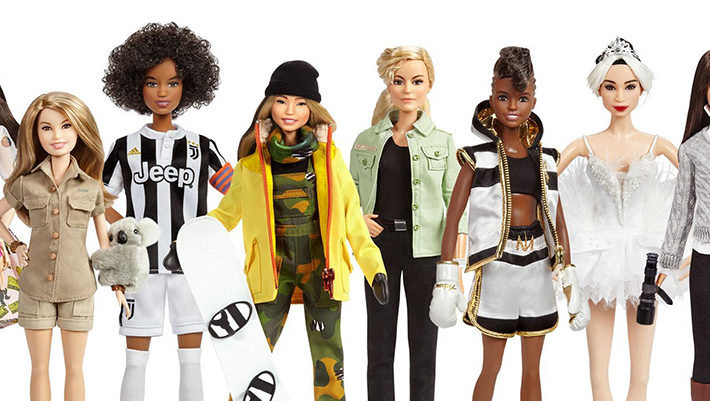 Barbie releases female role model dolls to mark Women's Day