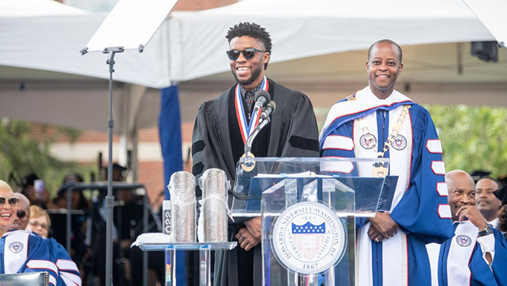 Best quotes from Chadwick Boseman's Howard University graduation speech