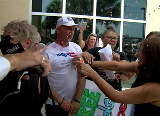 Scuffles Break Out During School Mask Meeting In Florida